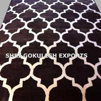 Rayon Chenille Carpet