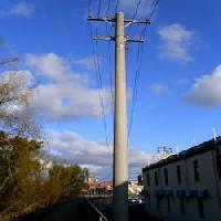 concrete pole