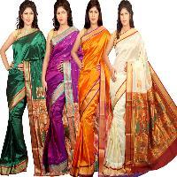 Art Silk Paithani Saree