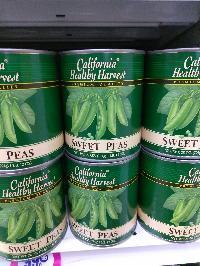Canned Sweet Peas