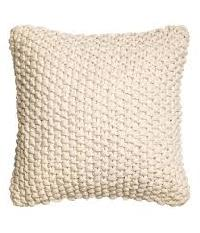 Woven Check Design Cushion Cover