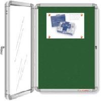 Acrylic Door Covered Notice Boards