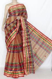 Bengal Traditional Tant Cotton Sarees