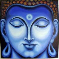 Gautam Buddha Oil Paintings
