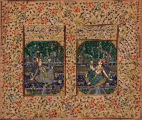 Mughal Art Oil Paintings
