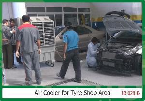 Tyre Shop Area Air Cooler