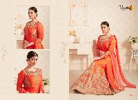 Banglori Silk Heavy Embroidery Lehenga Choli