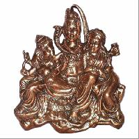 Metal Shiv Parivar Statue