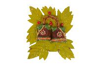 Wooden leaf bell Key Holder