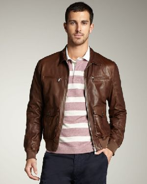Bomber Pure Leather Jackets