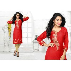 Ladies Designer Chiffon Kurti