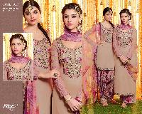 Beige and Onion Pink Combo Suits