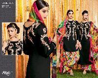 Black Floral Dynamic Style Suits