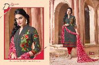 Branded Chanderi Cotton Suit