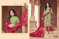 Designer Chanderi Cotton Suit
