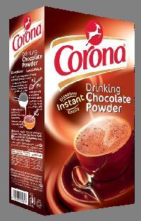 Corona drinking chocolate