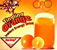 Gluco orange instant energy drink