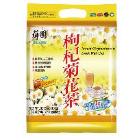 Instant chrysanthemum drink with goji