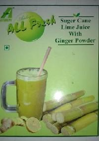 Instant sugar cane lime juice