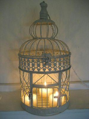 Bird Cage Candle Pillar