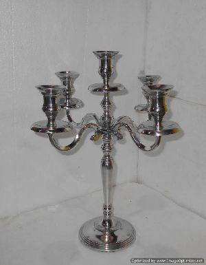 Candle Stand Aluminium
