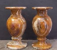 Stone Flower Vases