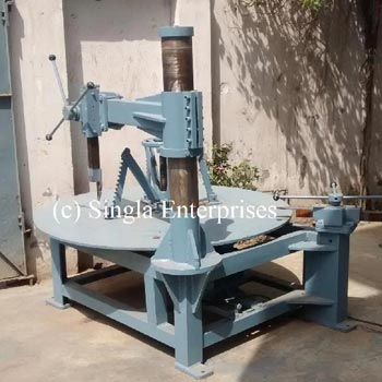 One Side Tyre Cutting Machine