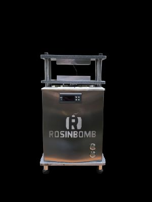 Rosinbomb M-50 Weighs Electric Rosin Press