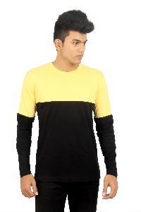 Mens Round Neck Full Sleeve T-Shirts