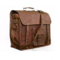 Messenger Leather Briefcase Bag
