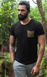 Mens Organic Clothing - Pocket Tee