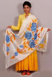 Floral Silk Dupattas