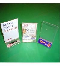 Acrylic Menu Card Frame