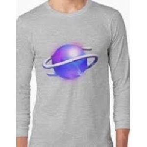 Mens Cotton Printed Full Sleeves T-shirts