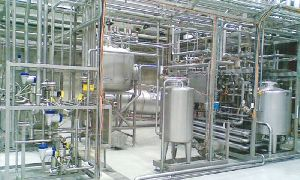 Milk Processing Plant Fabrication & Erection