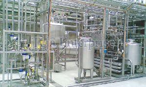 Milk Processing Plant Fabrication & Erection