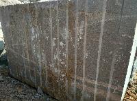 Ujjani Brown Gangsaw Rough Granite Blocks