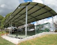 Curved Roofing Sheet Fabrication
