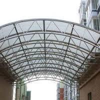 Railway Station Shade Fabrication