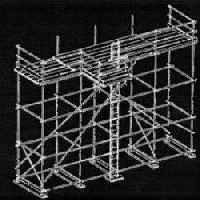 Scaffolding Prop Fabrication
