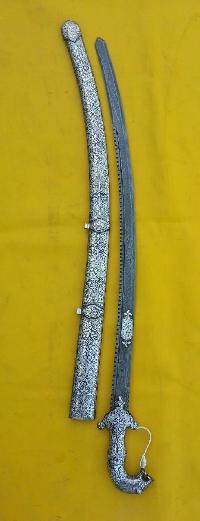 Decorative Silver Sword