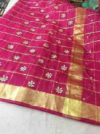 kota cotton zari check sarees(KCZCS1)