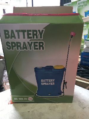 Sprayer Pump With Battery