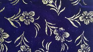 Embossed Velvet Flocked Fabric