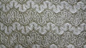 Glitter Flocked Fabric