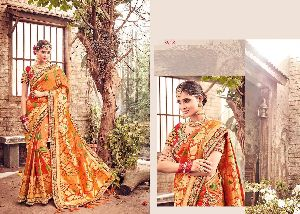 Banarasi Silk Designer Work Sarees