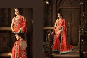 Bandhej Designer Silk Saree