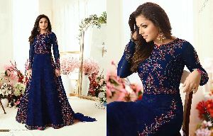 Embroidery Work Long Salwar Suit