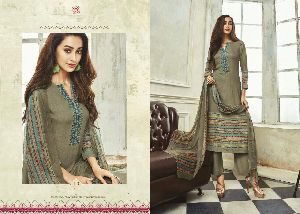 Embroidery Work Winter Salwar Suit