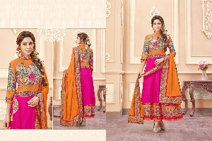 Traditional Art Designer Anarkali Suit